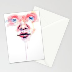 Don't cry Stationery Cards