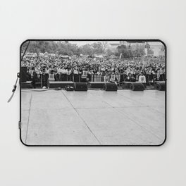 Crowd Shot from Backstage Laptop Sleeve