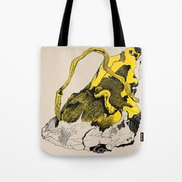 The Tree Trunk Man Tote Bag
