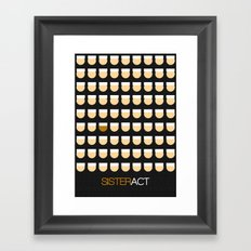 Sister Act Framed Art Print