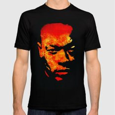 Dre LARGE Mens Fitted Tee Black