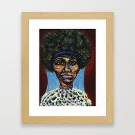 "Eunice ""Nina Simone"" Waymon Framed Art Print"