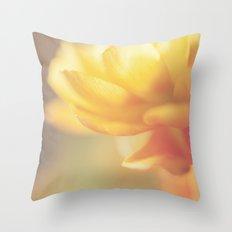 Chinese Rose Throw Pillow