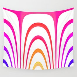 Cheerful lines Wall Tapestry