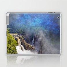 Wild waterfall in abstract Laptop & iPad Skin