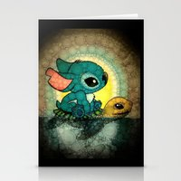 stitch Stationery Cards featuring Stitch by NORI