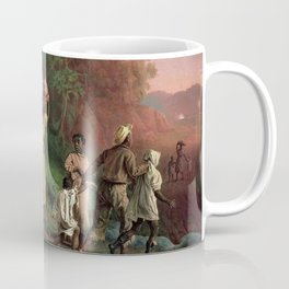 African American Masterpiece 'Emancipation or On to Liberty' by Theodor Kaufmann Coffee Mug