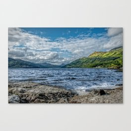 Loch Lomond Scotland Canvas Print
