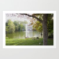 Crystal Palace Oleo  Art Print
