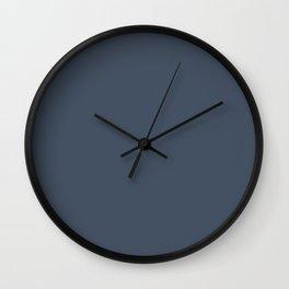 Faded Denim 17-4021 Wall Clock