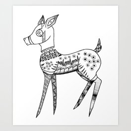 The Fawn Art Print