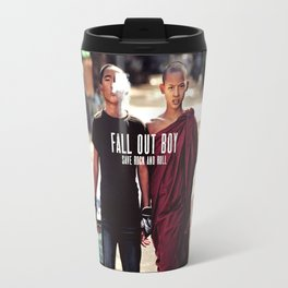 fal out boy Save Rock and Roll Travel Mug