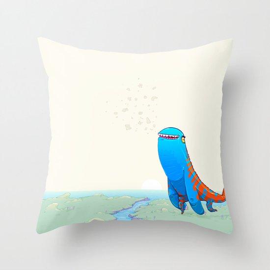 Derp Throw Pillow