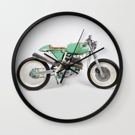 Café Racer par Choppersteel Wall Clock