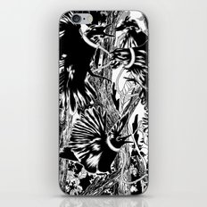 'Only the sweetest singers he will keep' iPhone & iPod Skin