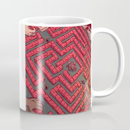 Domino Labyrinth Coffee Mug