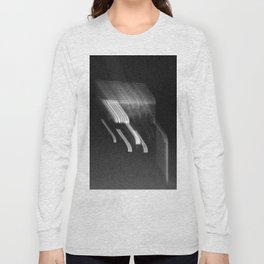 Being at the Drive-In B/W Long Sleeve T-shirt