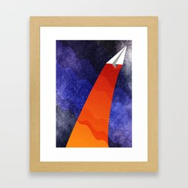 Throw It Out There Framed Art Print