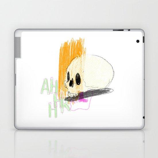 AHHHHHHR IT'S A SKULL (ACTUALLY IT'S JUST THE CRANIUM) Laptop & iPad Skin