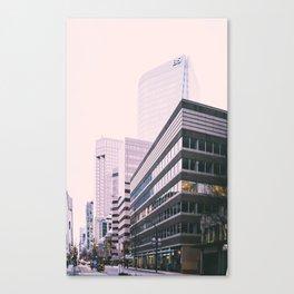Urban Vancouver Canvas Print