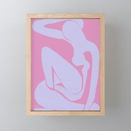 The Blue Nude at Dawn by Henri Matisse Framed Mini Art Print