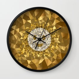 POLYNOID Smiley / Gold Edition Wall Clock