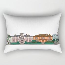 New Bedford Houses Rectangular Pillow
