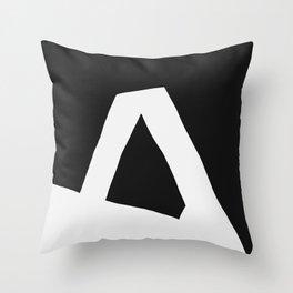 """""""A"""" Statement Throw Pillow"""