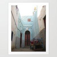 Passage No. 6 in Aswan, Egypt (2005) Art Print