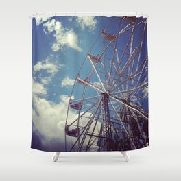 Ride in the Sky Shower Curtain