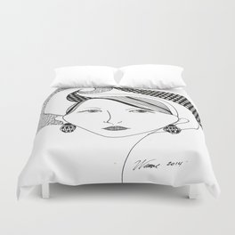 Beauty's Where you Find it Duvet Cover