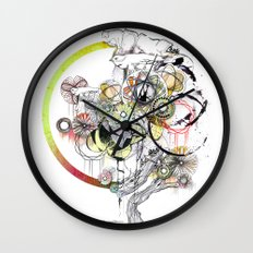 bouquet 3 Wall Clock
