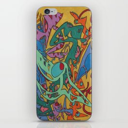 First Of All iPhone Skin