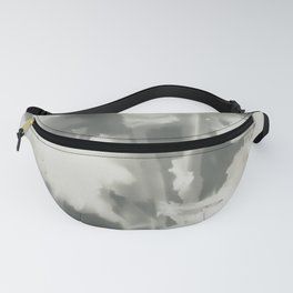 Gray Dahlias Fanny Pack