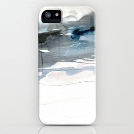 dissolving blues 2 iPhone Case
