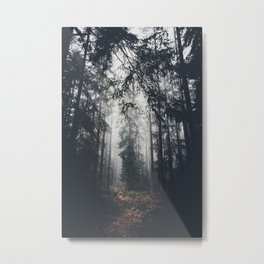 Dark paths Metal Print