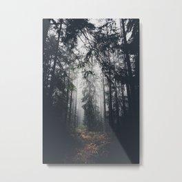 Dark paths Metal Print
