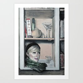 Still Life with Paris Hilton Art Print