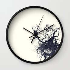 root Wall Clock