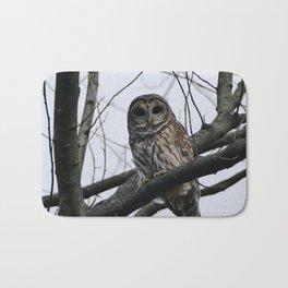 The Barred Owl Bath Mat