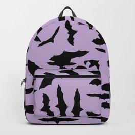 Bats Crocus Petals Backpack