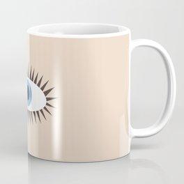 Big Eye Illustration Coffee Mug