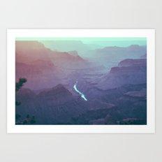 Early Morning Light - Grand Canyon South Rim Art Print