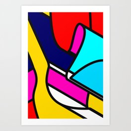 Abstract Art #5 Art Print
