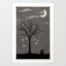 October Lullaby Art Print