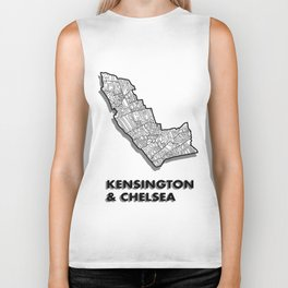 Kensington & Chelsea - London Borough - Simple Biker Tank