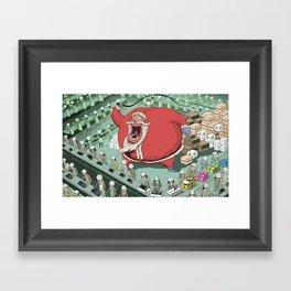 Christmas Spirit Framed Art Print