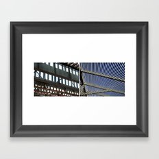 THE MIDDLE GROUND BETWEEN LIGHT AND SHADOW Framed Art Print