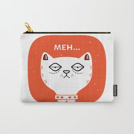 Meh Cat by Steve Mack Carry-All Pouch