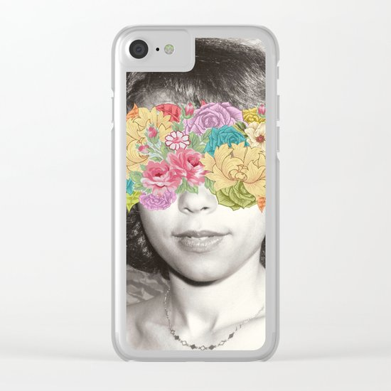 Her Point Of View Clear iPhone Case